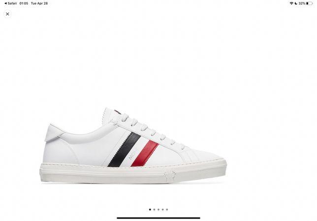 Moncler sneakers new чоловічі