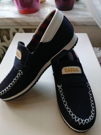 Новые Джинсовые туфли, размер 33