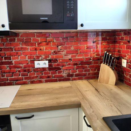 Lacobel, panele szklane do kuchni, szkło z grafiką, szkło do kuchni