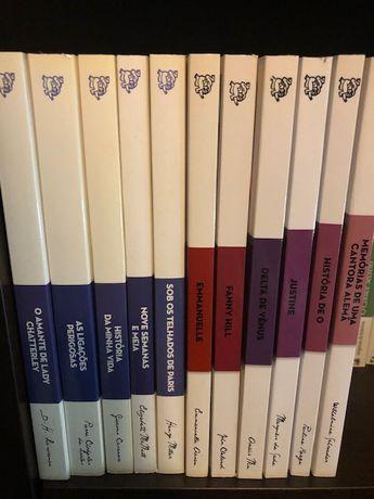 Obras primas da literatura erótica 11 livros NOVOS