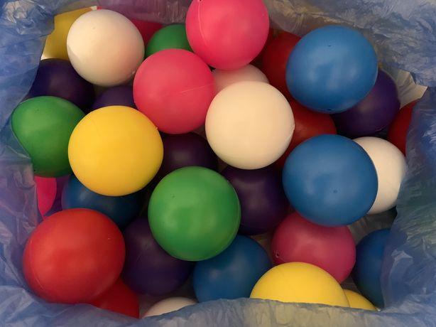 Шарики для сухих бассейнов + кубики