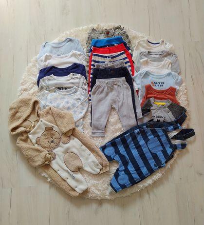 Mega paka ubrań chłopie 68 3-6 msc tanio