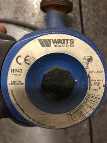 Pompa WATTS HP43