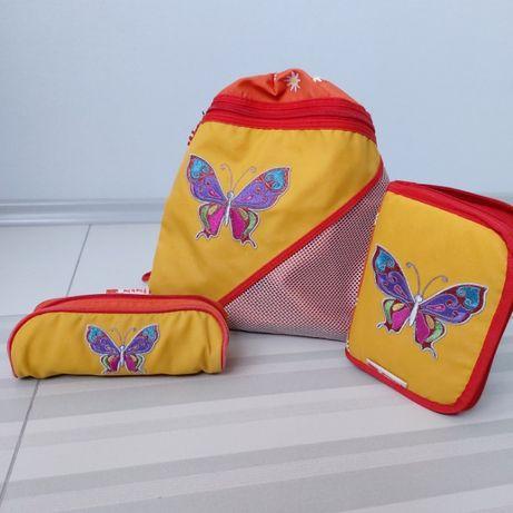 Продам рюкзак и два пенала HAMA Step by Step б/у