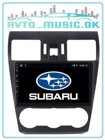 Магнитола Subaru Forester 2011-2015 Android, USB, GPS, 4G!