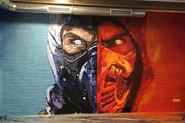 Граффити оформление. Художественная роспись стен, витрин. Харьков