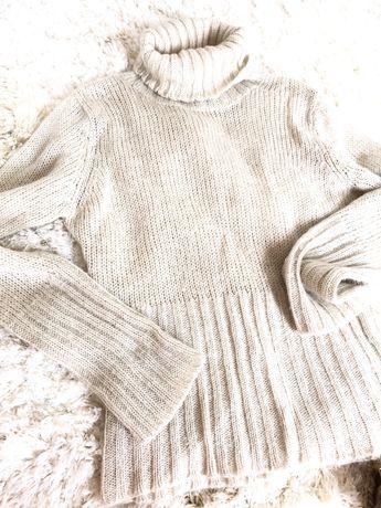 Sweterek sweter s m bez hand golf made welniany