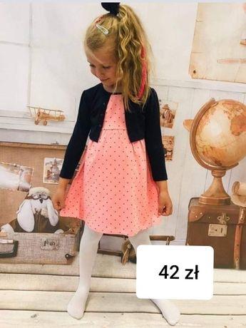 Sukienka z bolerkiem rozmiar 86