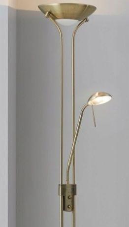 lampa  podłogowa nowoczesna ściemniacze złota srebrna