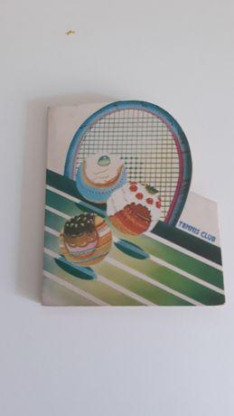 Livrinho de Apontamentos Vintage Tennis Club