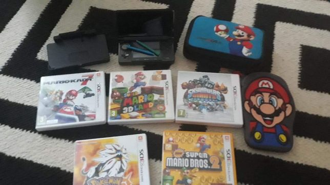 Nintendo 3DS + gry