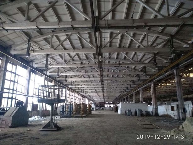 Оренда машинобудівного заводу в Дрогобичі - 38489 м2, 10 га