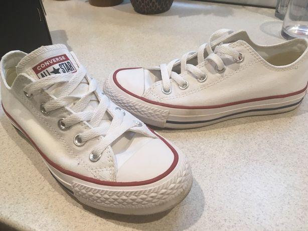 Converse trampki, białe damskie trampki Converse rozmiar 36 sprzedam