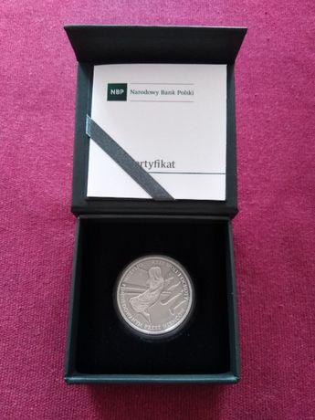 Moneta srebrna 10 zł Rzeż Woli i Ochoty