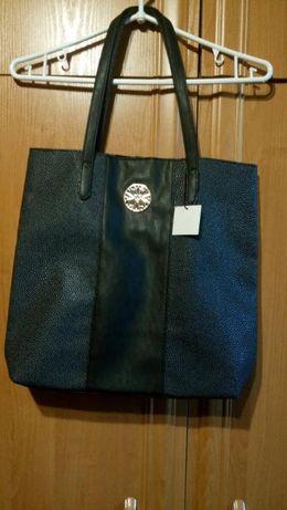 nowa torba czarna shopper Avon