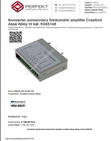 Konwerter wzmacniacz fotokomórki amplifier Crawford Assa Abloy