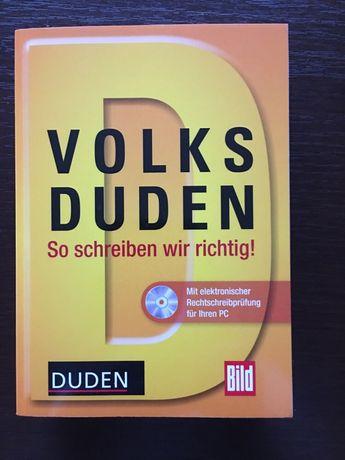 Niemiecki; So schreiben wir richtig! ; Volks Duden