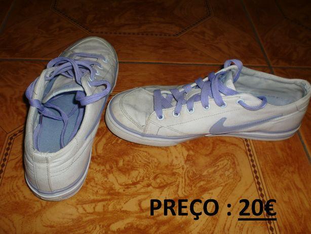 calçado - sapatilhas / tenis – nike / adidas - tamanho 38 (varios)