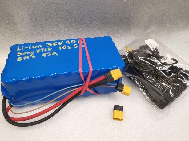 Rower elektryczny akumulator Li-ion 36V 10Ah