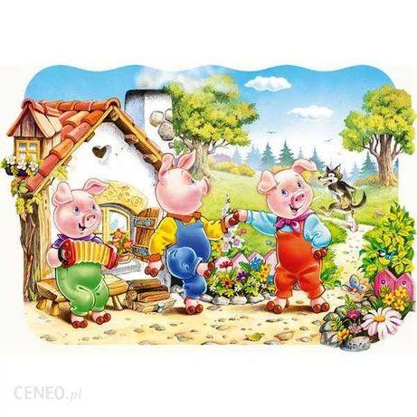 Puzzle maxi trzy swinki