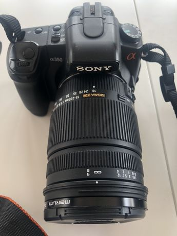 Aparat, Lustrzanka Sony Cyber-shot Alfa DSC-H400 + Akcesoria