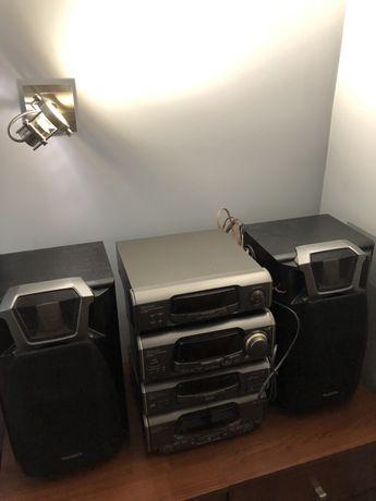 Technics wieża radio