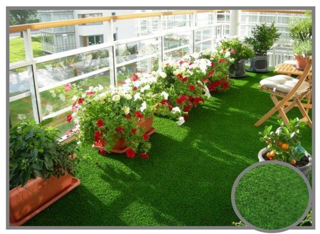 Wykładzina Sztuczna Trawa Miękka Cricket  balkon taras 1,33m, 2m ,4m