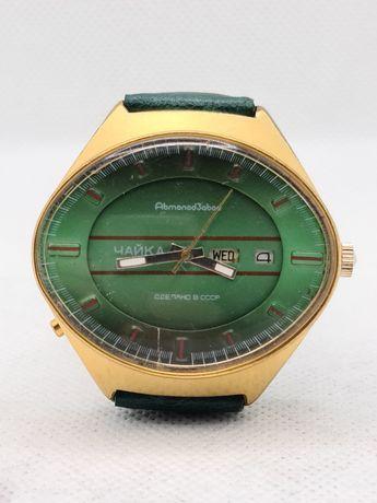 Часы Чайка Ау позолота СССР