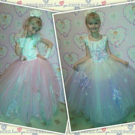 Детские платья нарядные пышные