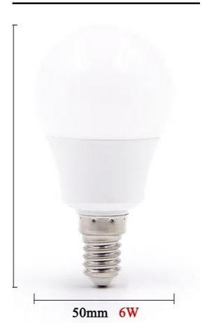 4 Lâmpadas LED de alta qualidade 6W
