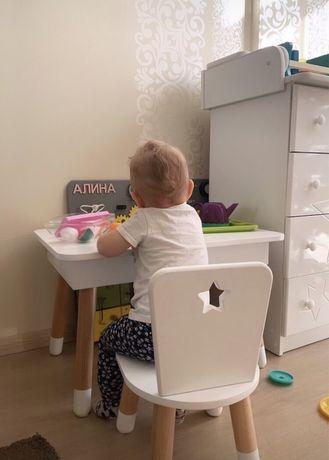 Детский стол и стул детская мебель