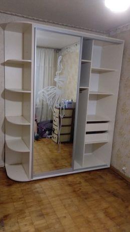 """Шкафы купе серии """"Ультра"""". Двери зеркала или ДСП (на выбор). 14 цветов"""