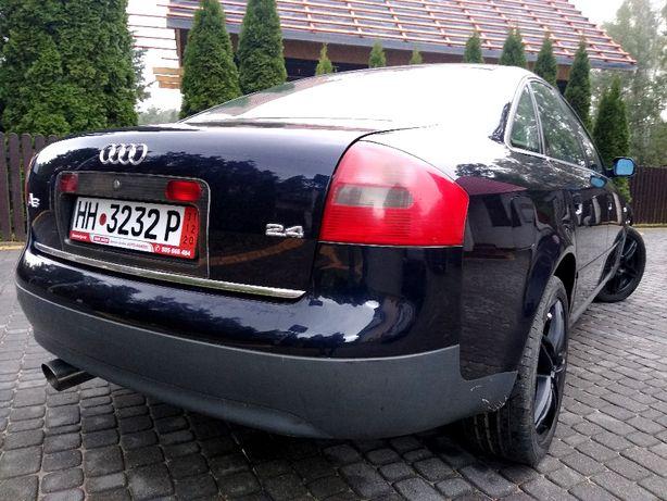 AUDi A6 2,4 V6 165KM Klimatyzacja Zadbana OPŁACONA