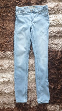 Spodnie jeans z lycrą