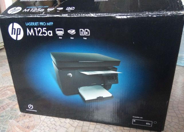 Принтер HP LaserJet M125a пользовался дома