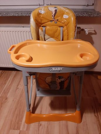 Praktyczne krzesełko do karmienia Baby Design