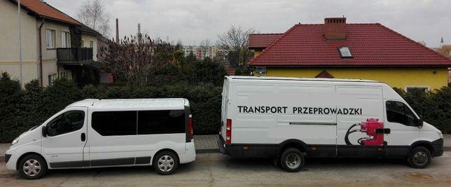 Transport rzeczy, mebli, osób, transfer na lotnisko, przeprowadzki BUS