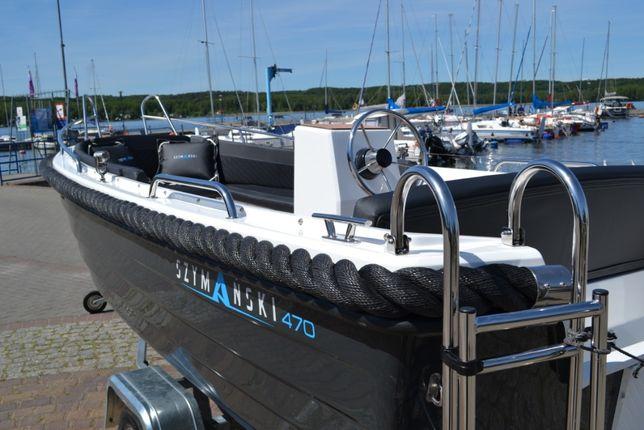 Łódź ,łódka SZYMAŃSKI 470 turystyczna, rekreacyjna, wędkarska