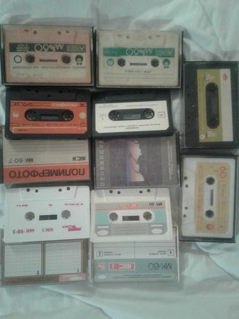Аудиокассета МК60 Мелодия
