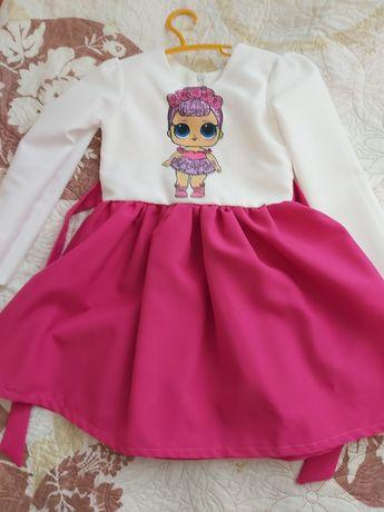 Плаття з лялькою Лол