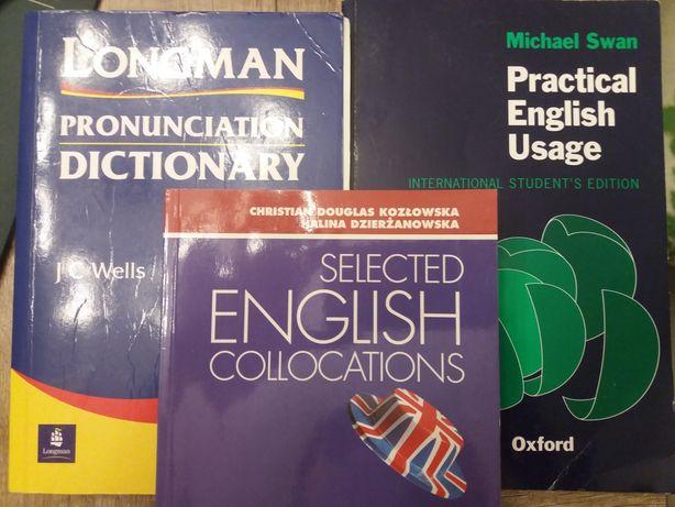 Practice Eng Usage, Pronunciation Dictionary, Collocations