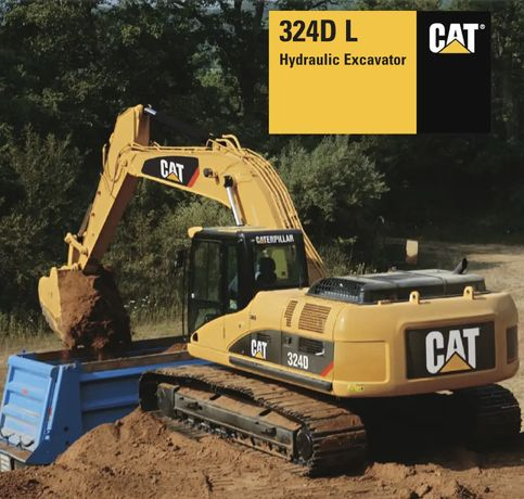 Екскаватор CAT 324 гусеничний