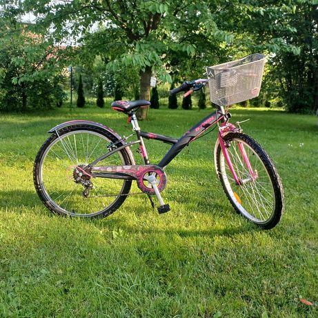 Rower btwin dla dziewczynki 9-12 lat
