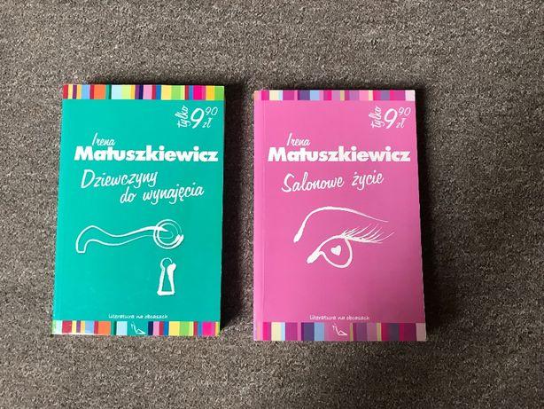 Irena Matuszkiewicz Dziewczyny do wynajęcia i Salonowe życie