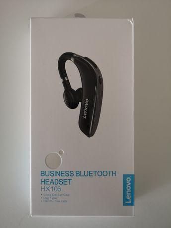 Aurícular Bluetooth Lenovo - Compatível Android ou iOS