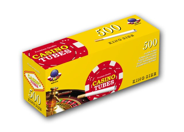 Гильзы для сигарет, гильзы для табака, сигаретные гильзы CASINO 500