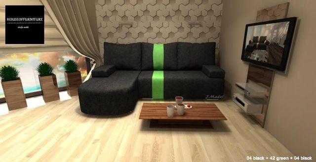 narożnik, rogówka, sofa rozkładana, łóżko LARY MINI