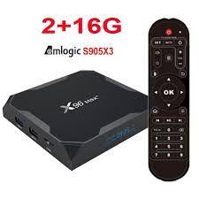 X96 MAX Plus 2/16 Андроид 9 S905X3 Smart TV Box ТВ Приставка