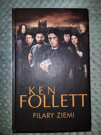 """Książka Kena Folletta """"Filary ziemi"""""""