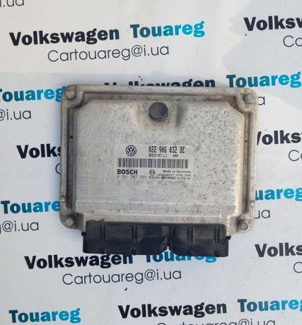 Блок управления двигателем 3.2 Бензин Volkswagen Touareg 022906032BE